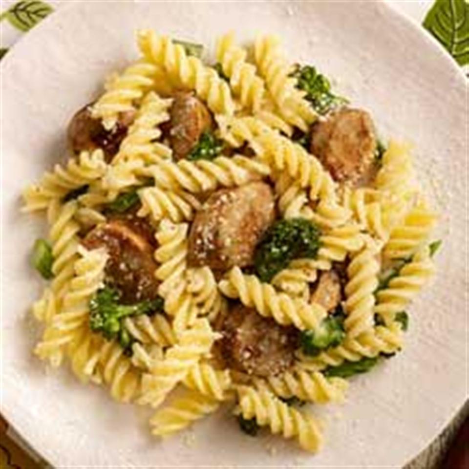 Gluten Free Chicken Sausage & Broccoli Rabe Rotini Trusted Brands