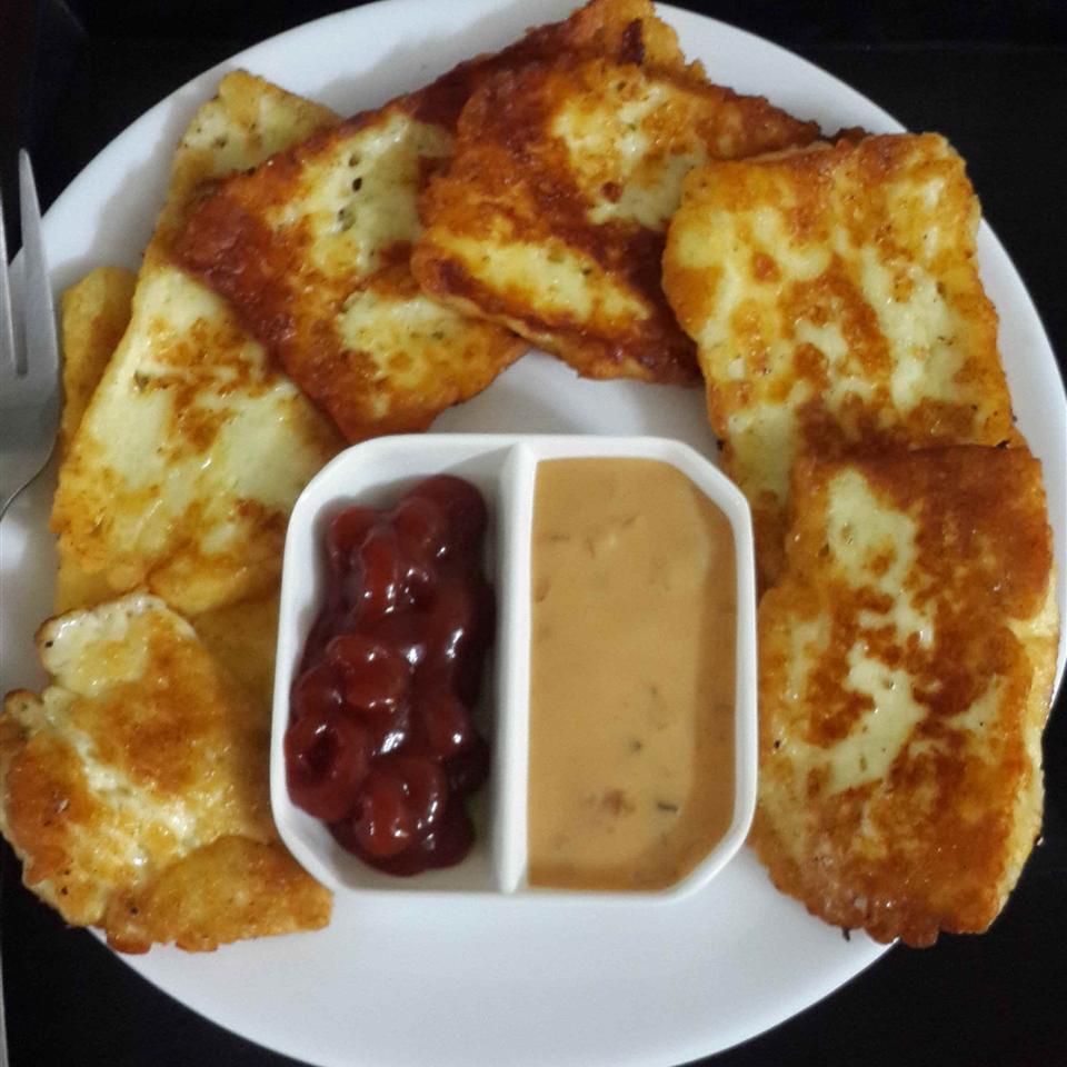 Halloumi Cheese Fingers Mrs. Imtiaz