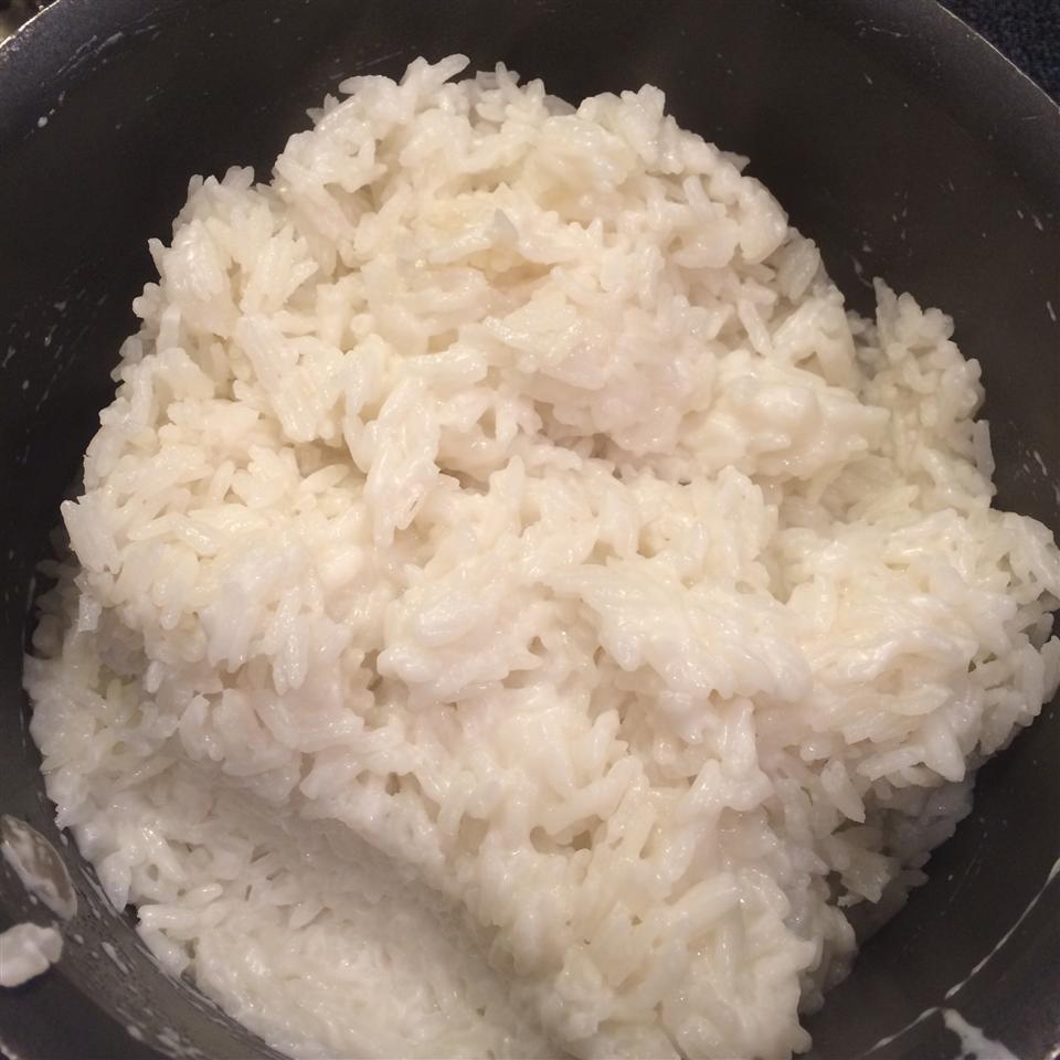 Asian Coconut Rice tgs