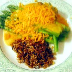 Asparagus Chicken papat