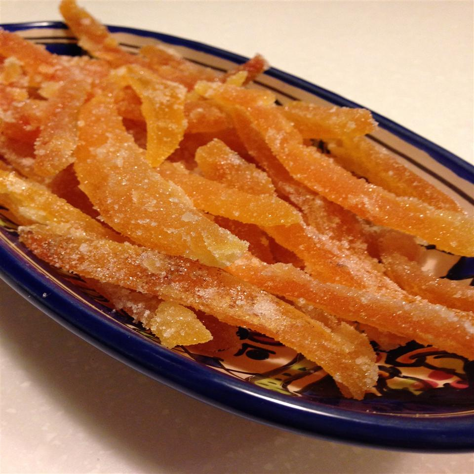 Easy Candied Grapefruit Peel