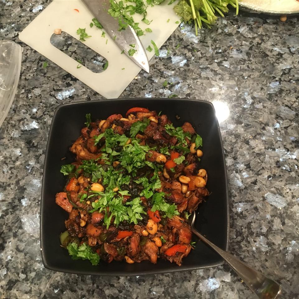 Spicy Caramel Chicken Eddie