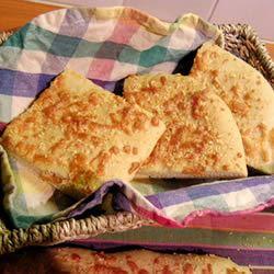 Garlic Cheese Flatbread VELLUM