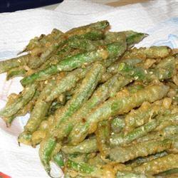 Sesame Tempura Green Beans Beatrice