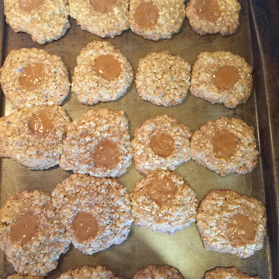 Caramel Chewy Oatmeal Cookies Chip Willis