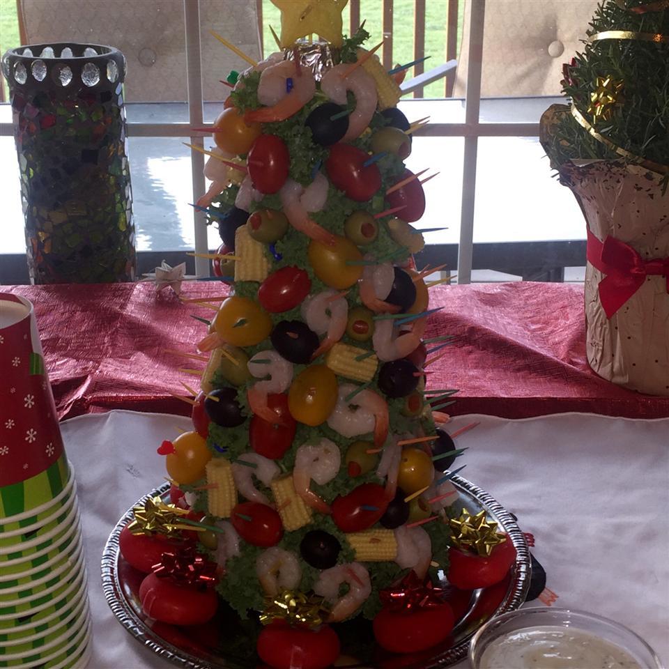 Mary's Christmas Shrimp Tree Jeanne Becktel
