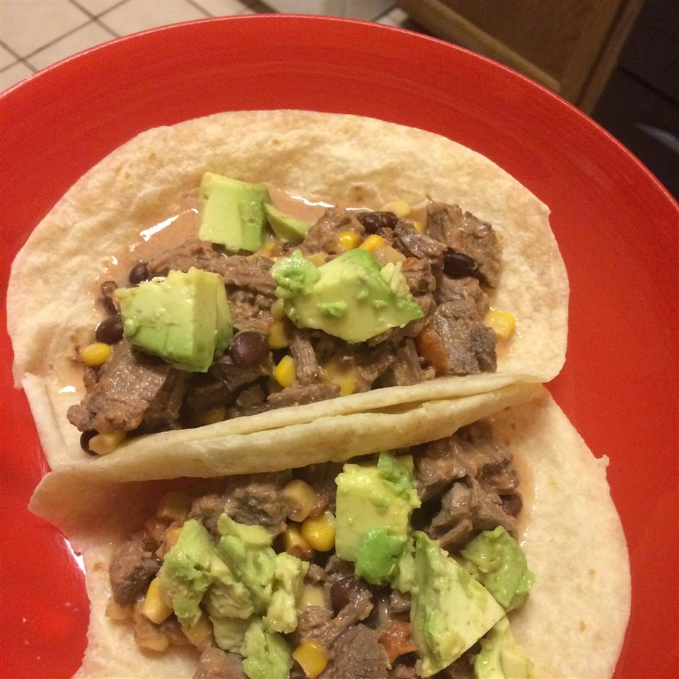 Slow Cooker Venison Burritos