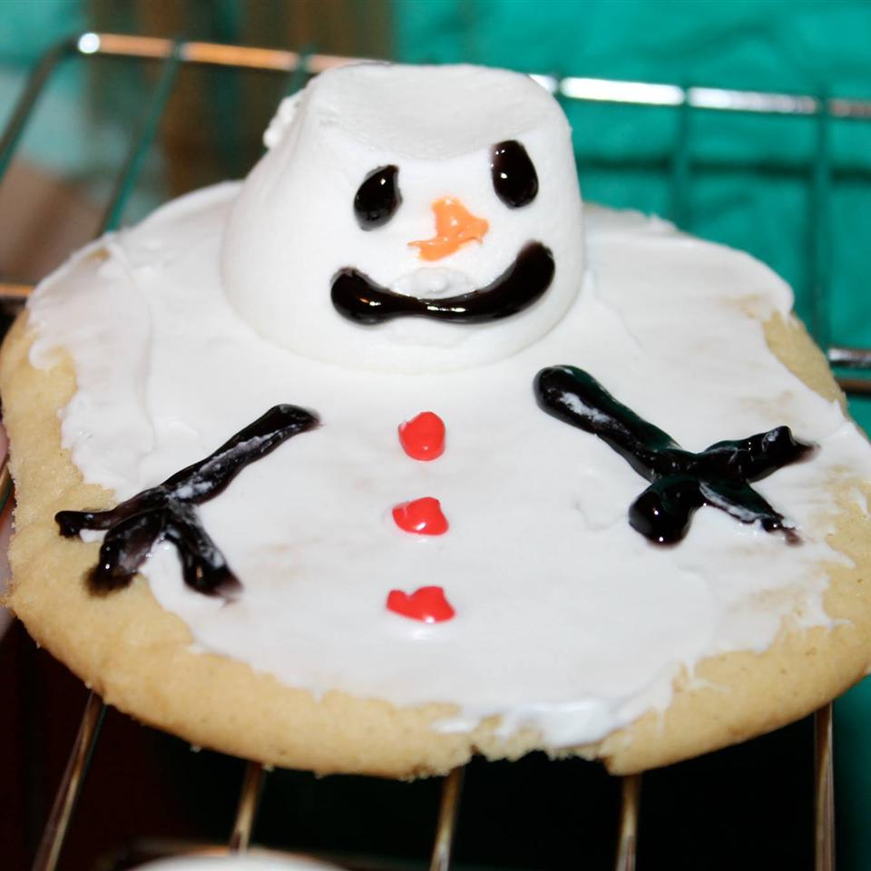 Melted SnowMan Cookie Denise