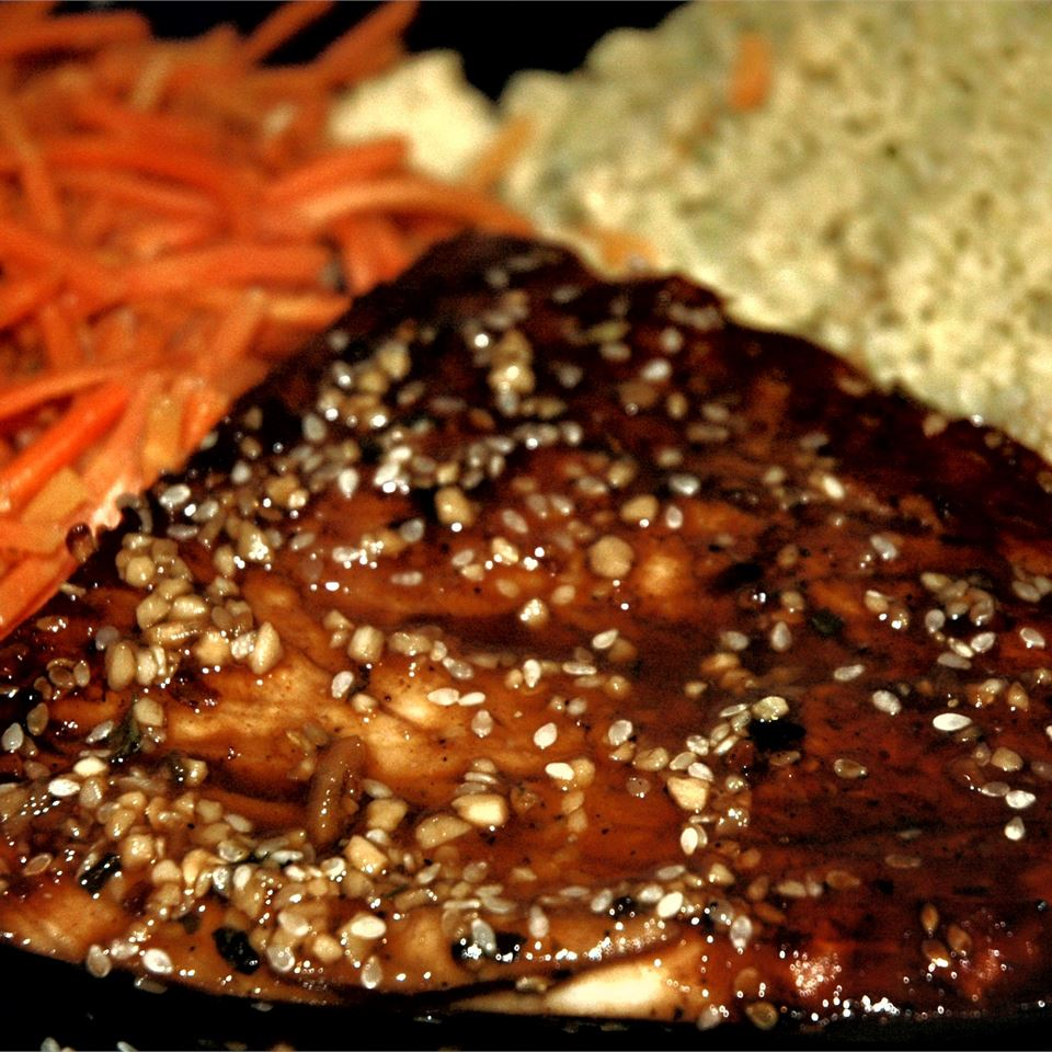 Grilled Teriyaki Tuna