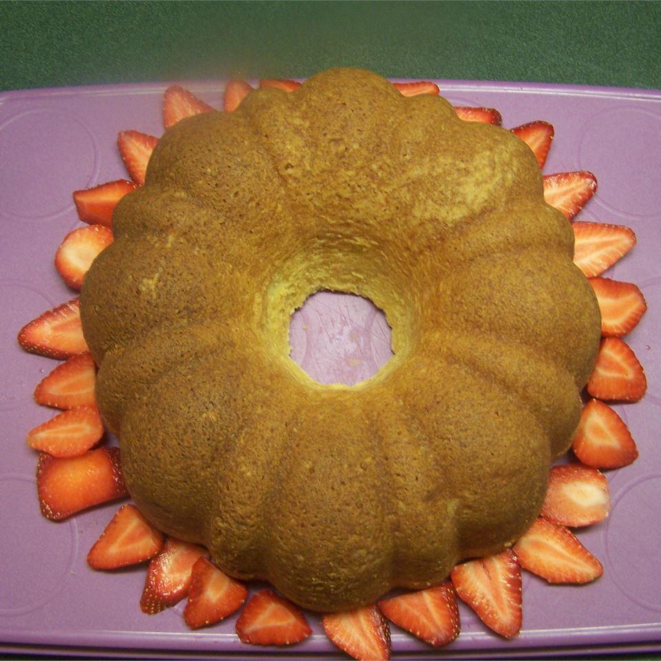 Grandma's Sour Cream Pound Cake