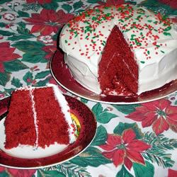 Ravishing Red Velvet Cake
