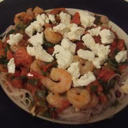 Shrimp with Tomatoes and Feta Cheese erin mc