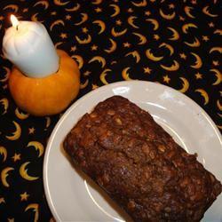 Samhain Pumpkin Bread