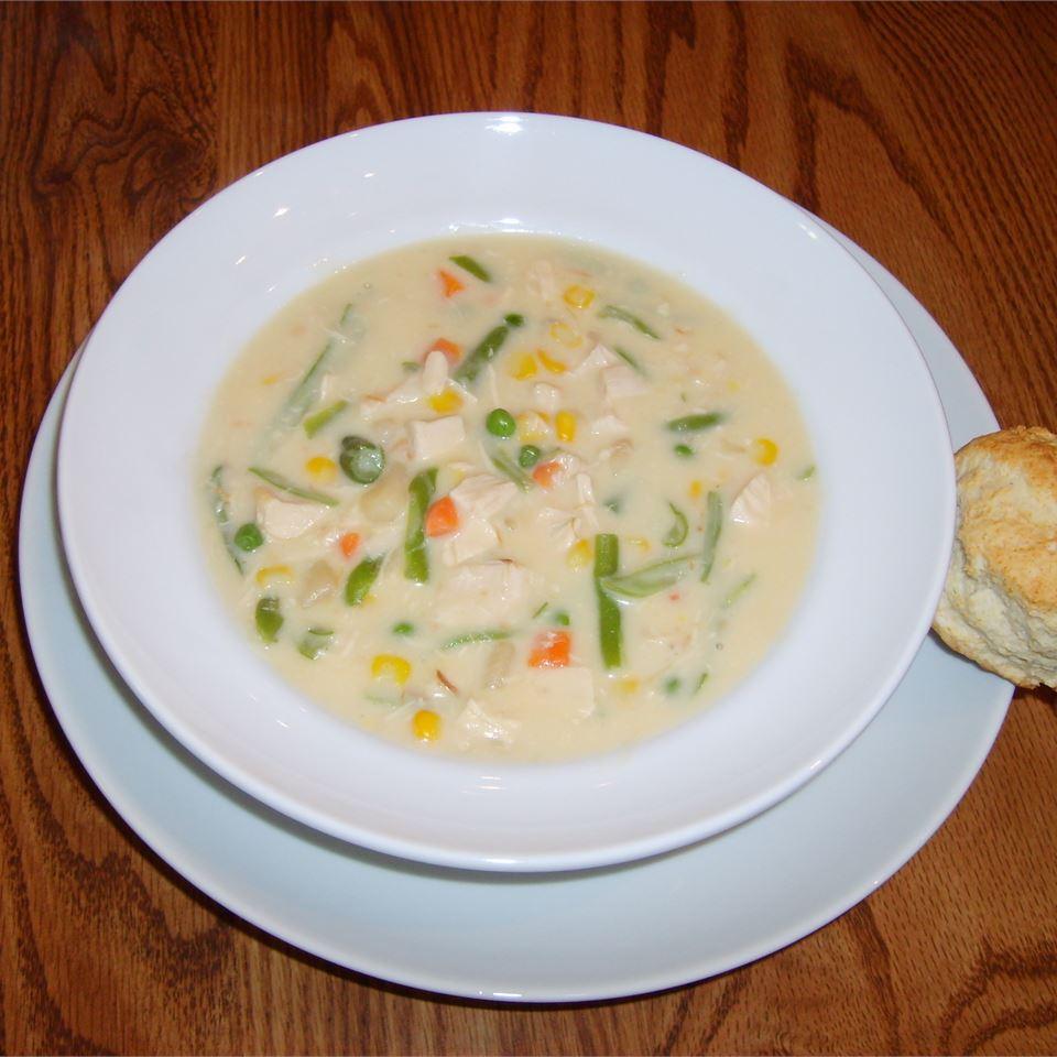 Chicken Pot Pie Soup TRACYHIBB