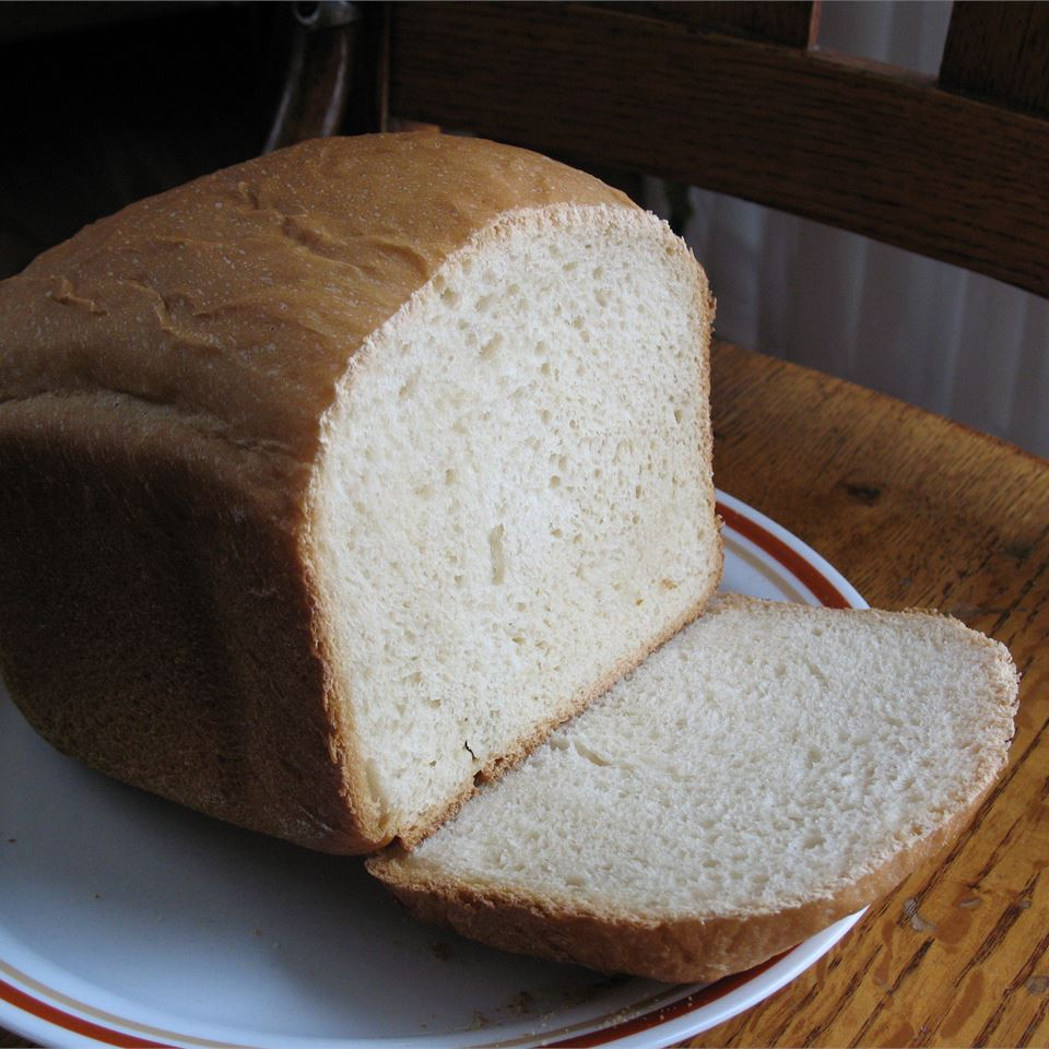 White Bread For The Bread Machine Diana Penning