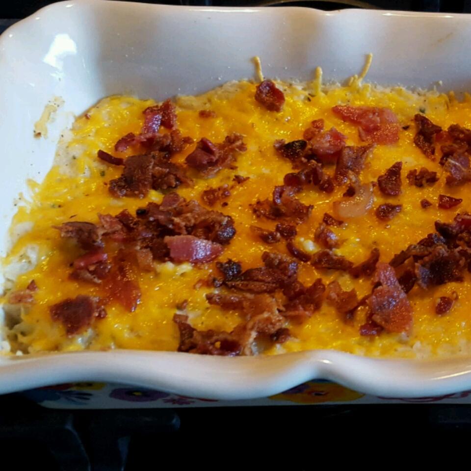 Twice Baked Potato Casserole With Bacon