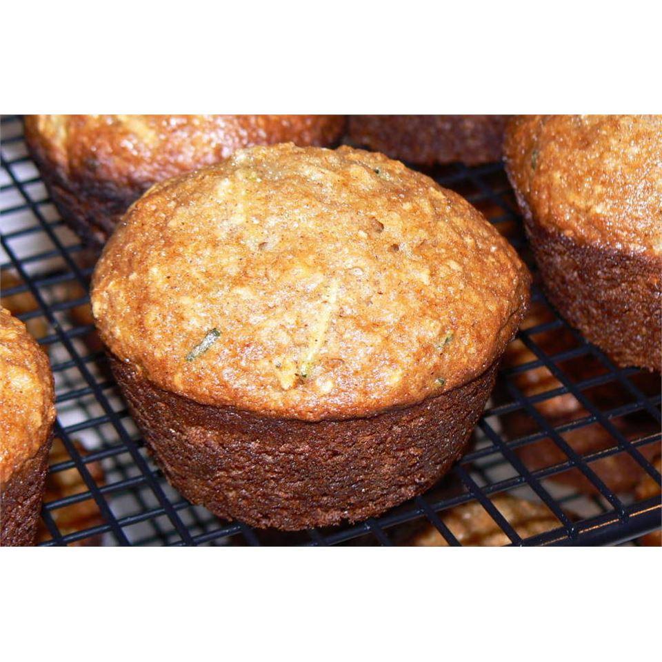 Zucchini Yogurt Multigrain Muffins POLARBEE