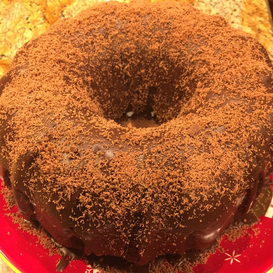 Easy Chocolate Bundt Cake Glaze