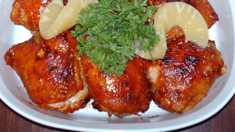 Caribbean Canadian Glazed Chicken