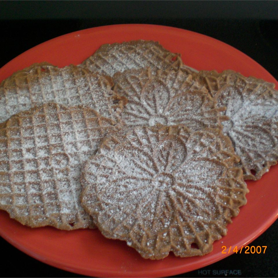 Chocolate Pizzelles Emma