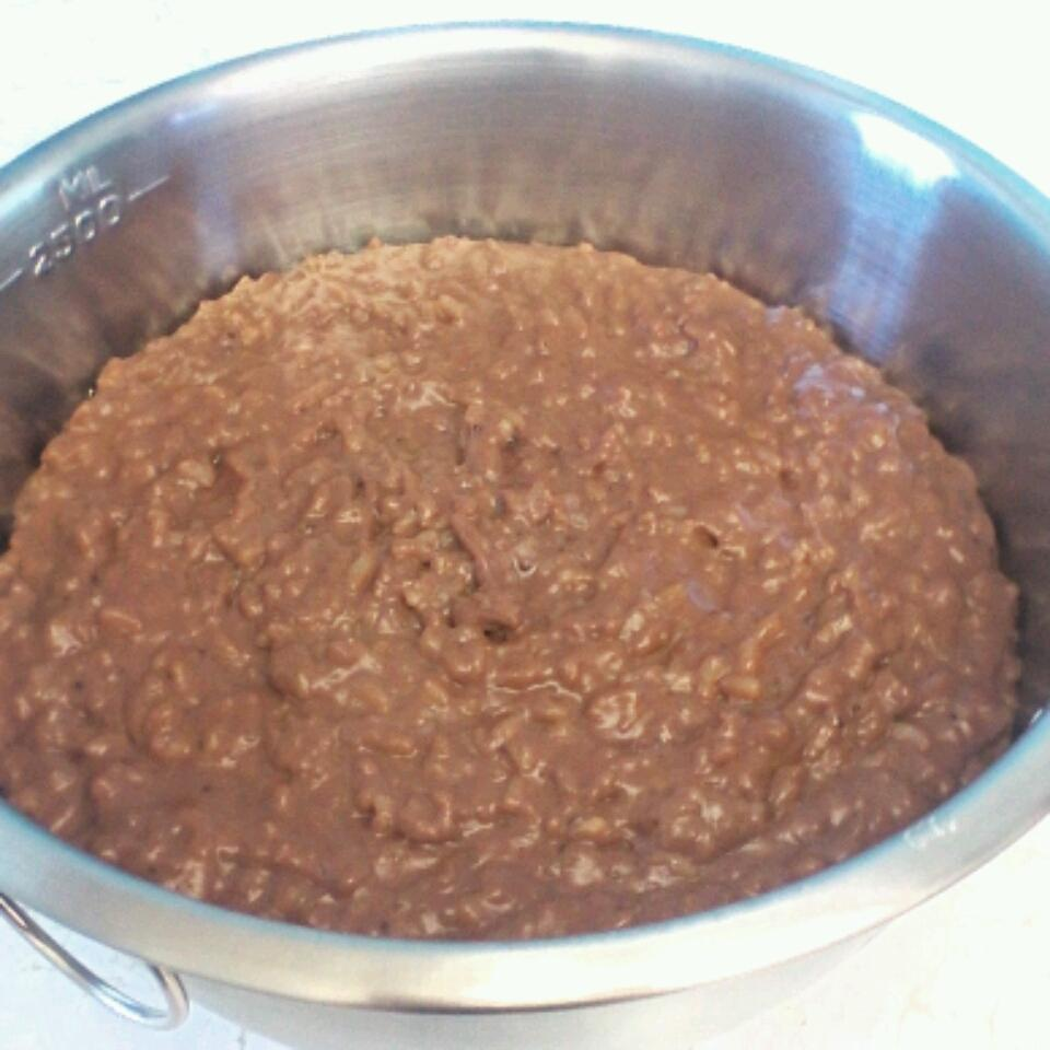 Chocolate-Orange Rice Pudding