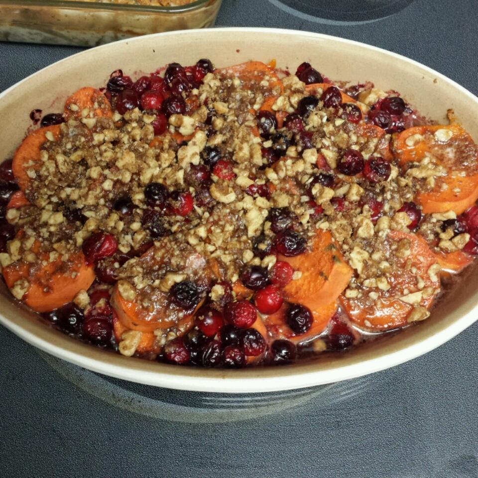 Sweet Potato Cranberry Bake Sue D'Errico