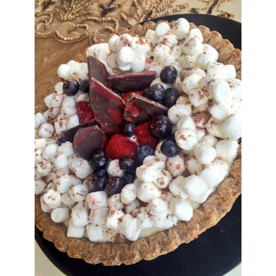 Cherry Cream Cheese Pie zeinab