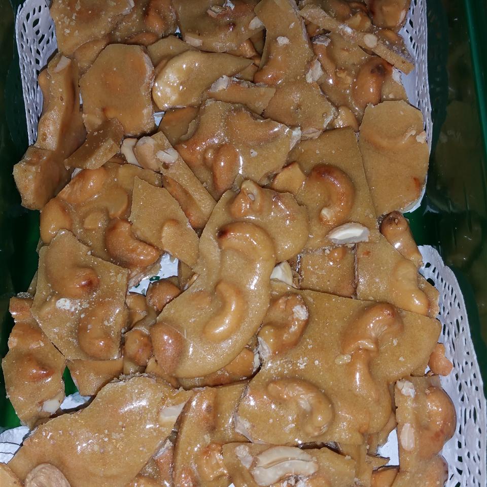Shorecook's Cashew Brittle Patricia Watts