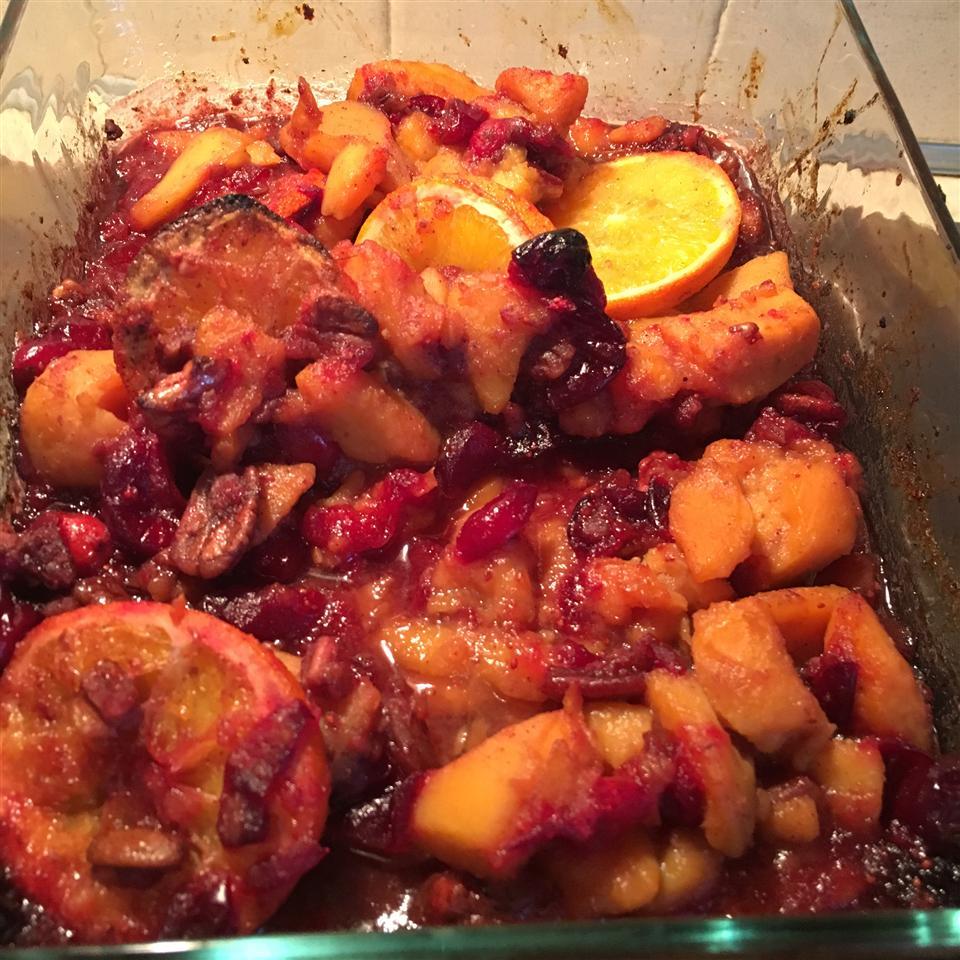 Sweet Potato Cranberry Bake image