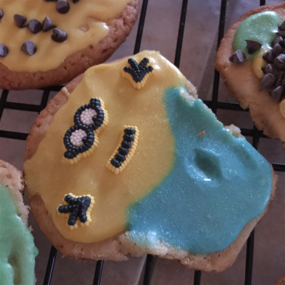 Shaped Vanilla Cookies clare