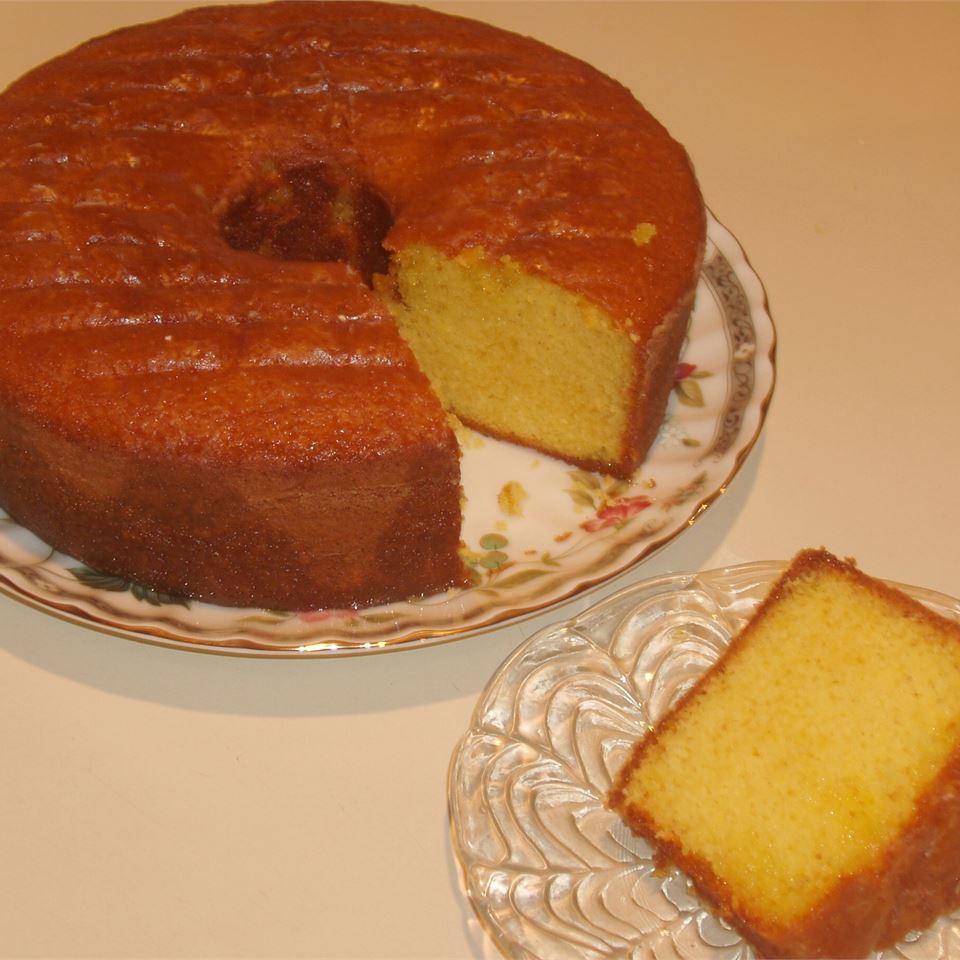 Glazed Lemon Supreme Pound Cake pamc