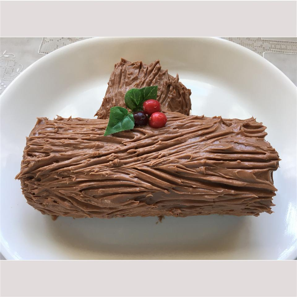 Chocolate Decadence Yule Log BOOK_WORM
