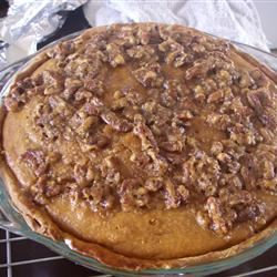 Pecan Pumpkin Pie I