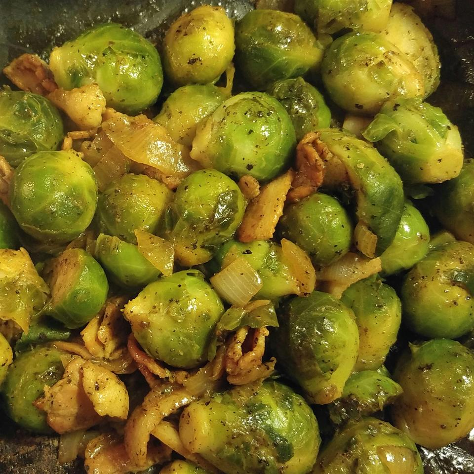 Brussels Sprouts ala Angela Shazza