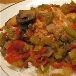 Slow Cooker Chicken Creole