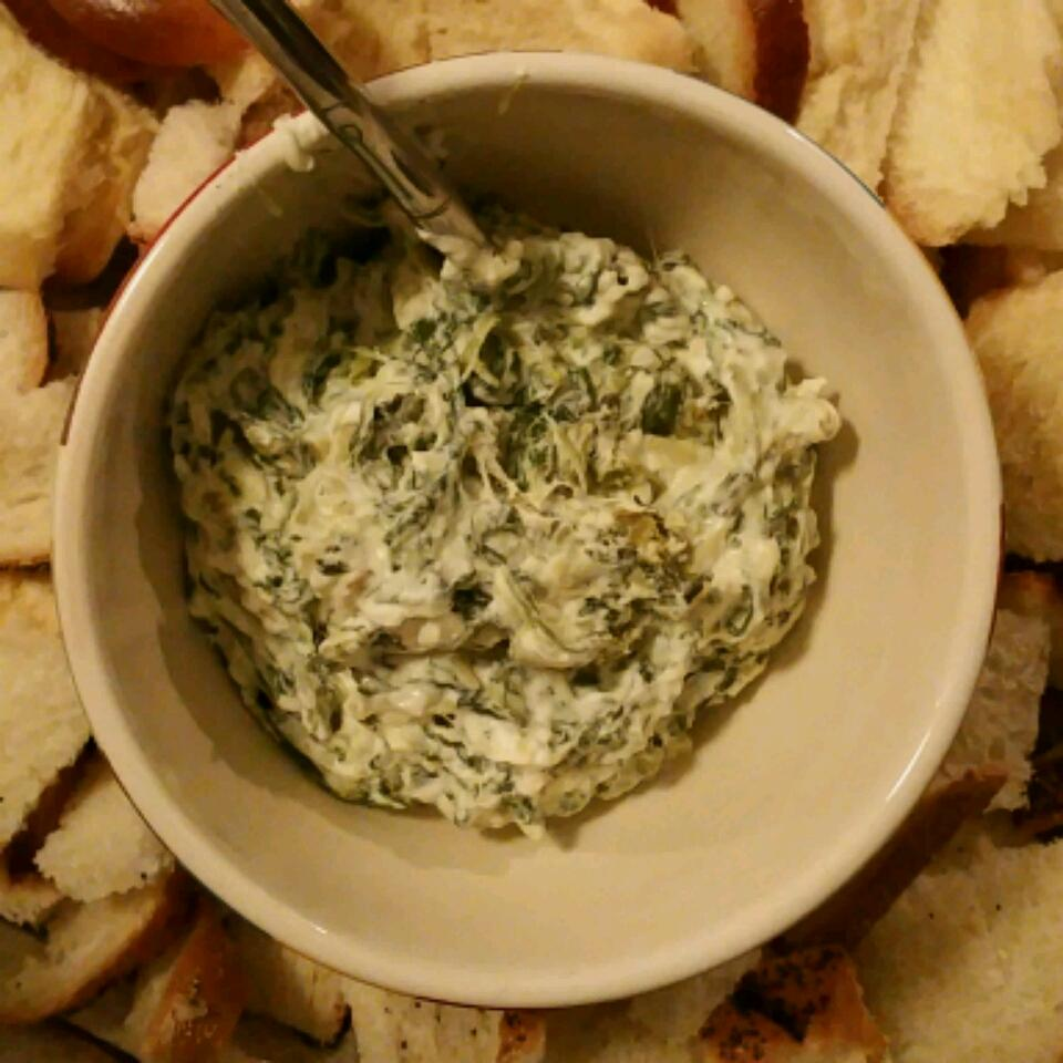 Veronica's Hot Spinach, Artichoke and Chile Dip