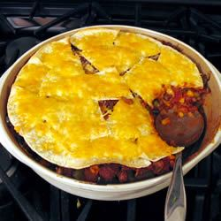 Chili Beef Casserole Carrie Causey