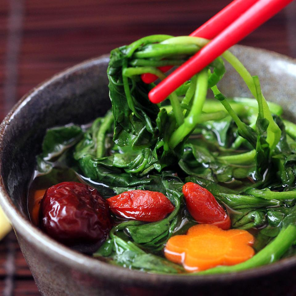 Easy Asian Watercress Soup