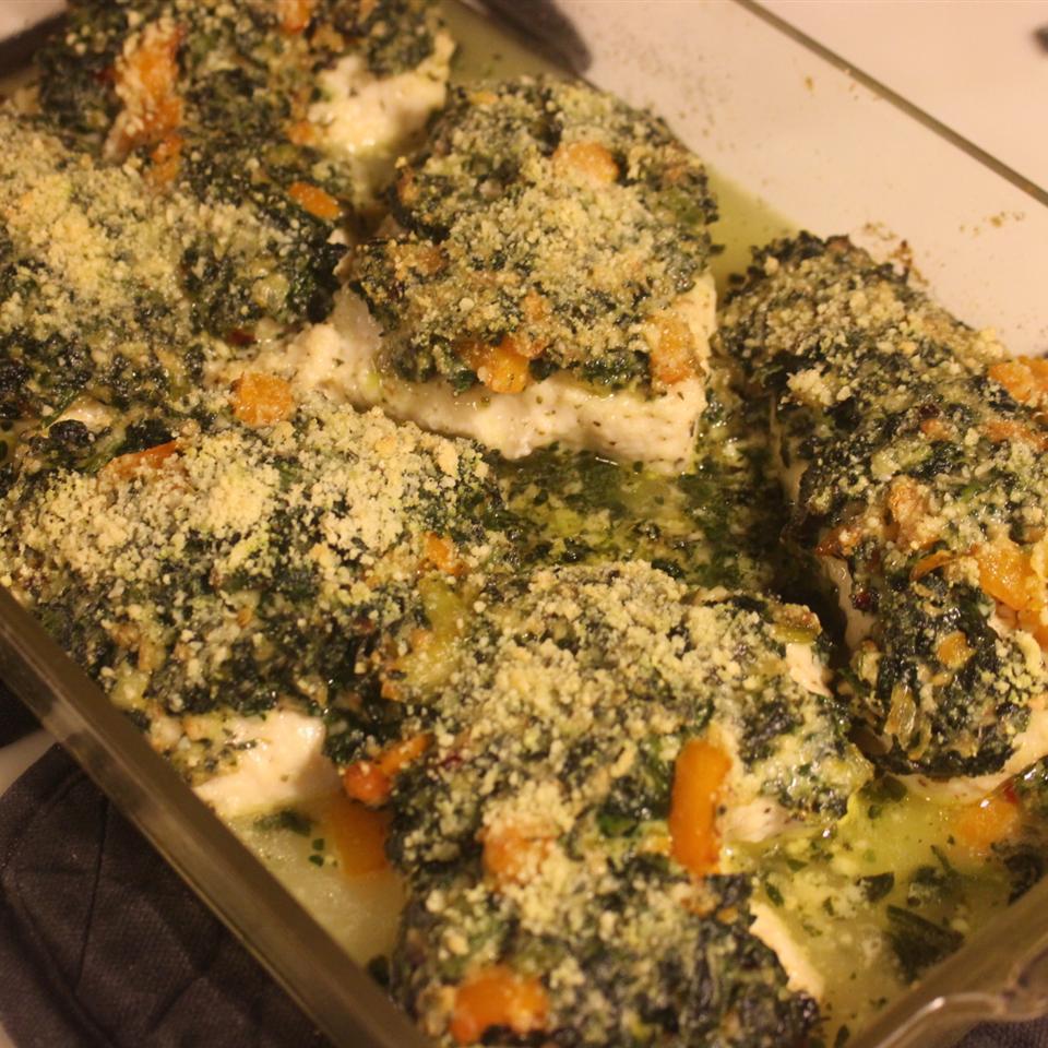 Spinach Chicken Parmesan Scott M.