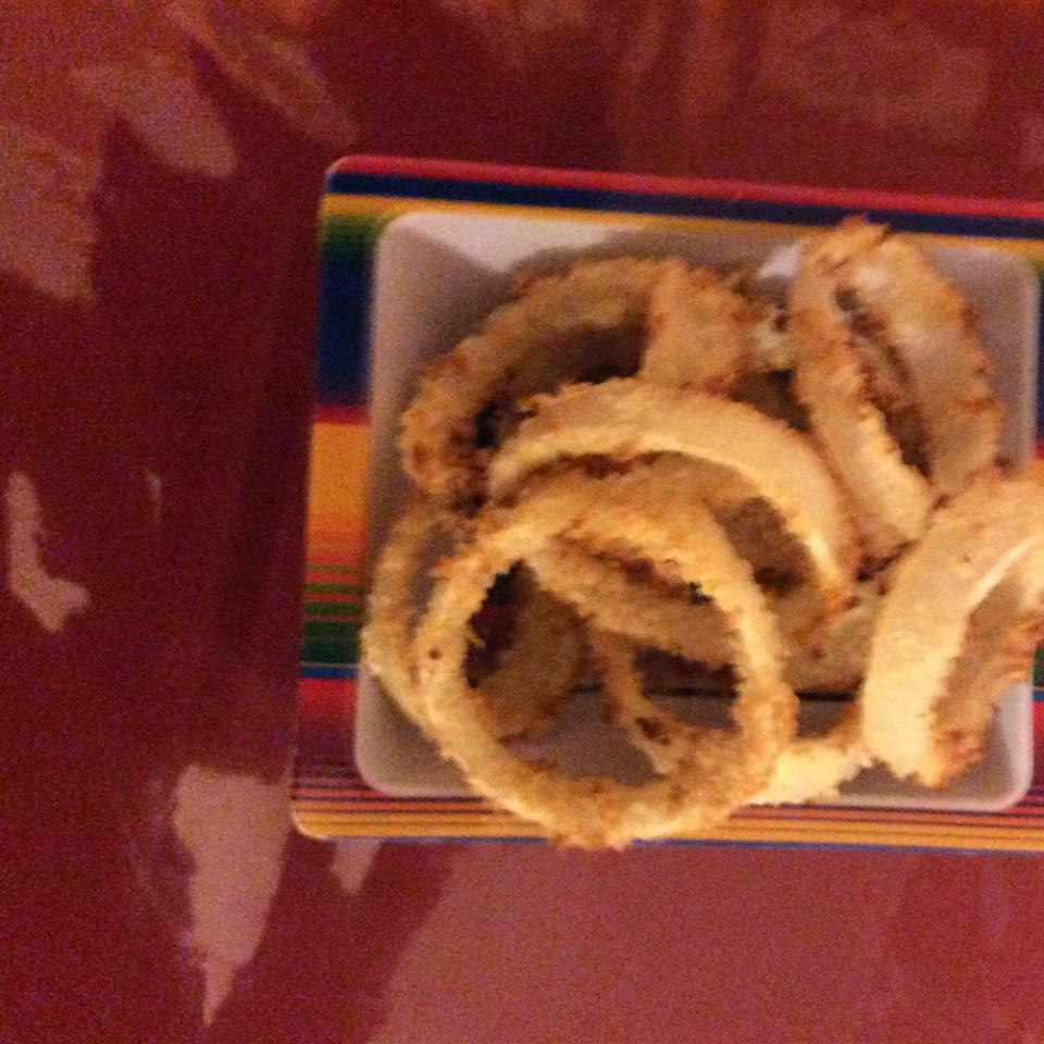 Oven-Baked Onion Rings
