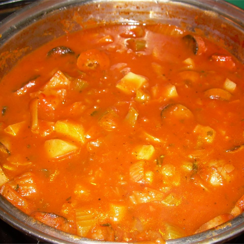 Wakula's First Attempt at Vegetable Stew Gitti