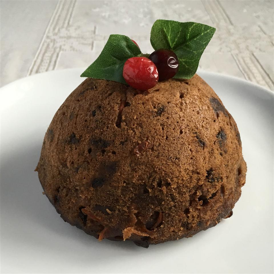 Apple and Carrot Christmas Pudding