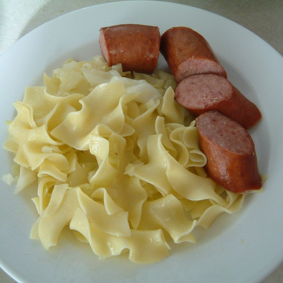 Polish Cabbage Noodles LILSWEETFORMOSA