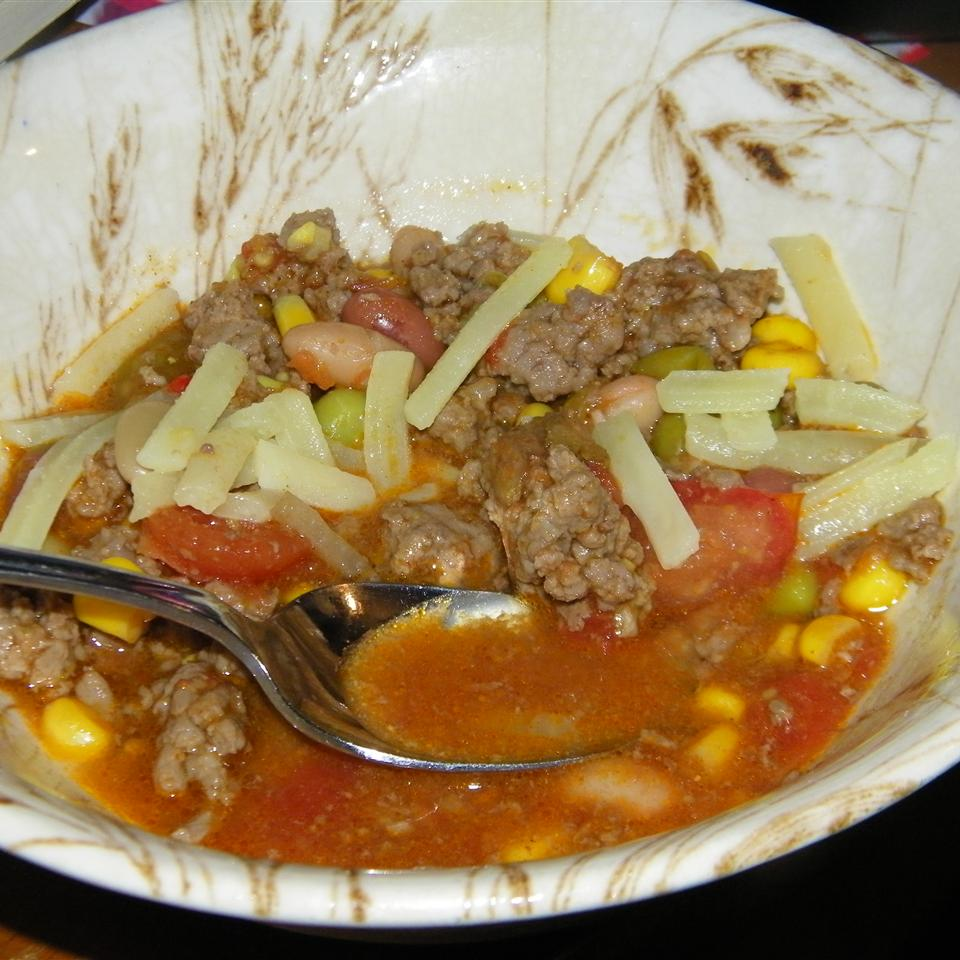 Chad's Slow Cooker Taco Soup Seattle2Sydney