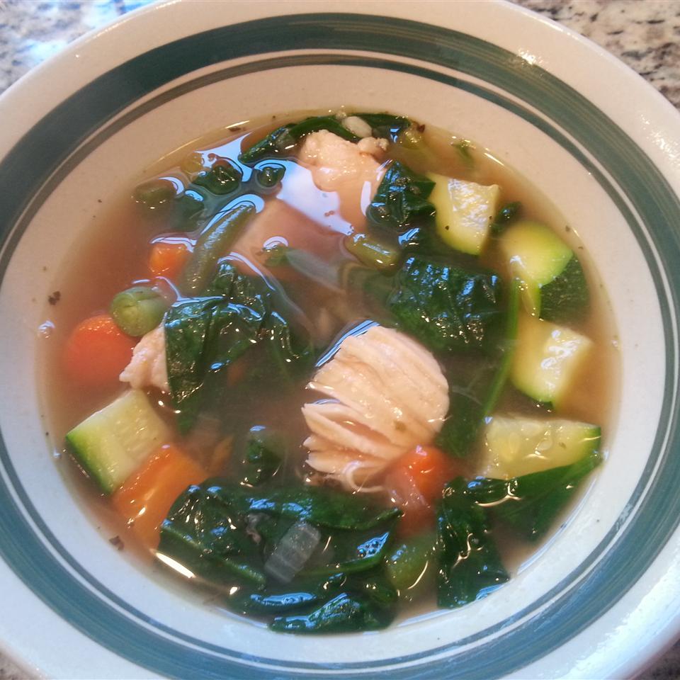 Chicken Veggie Soup II Stephanie