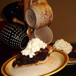Chocolate Pecan Pie IV