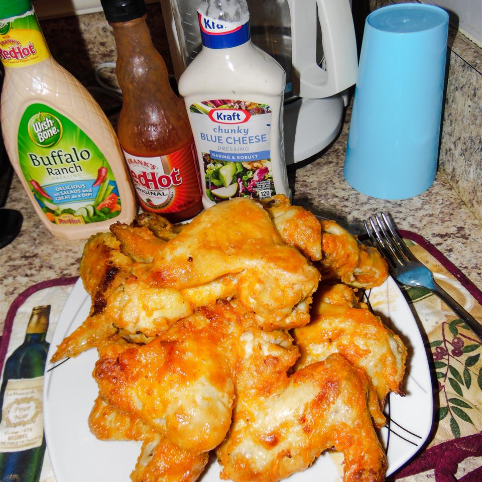 Baked Buffalo Wings Recipe Allrecipes