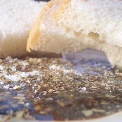 Olive Oil Dip for Italian Bread pomplemousse