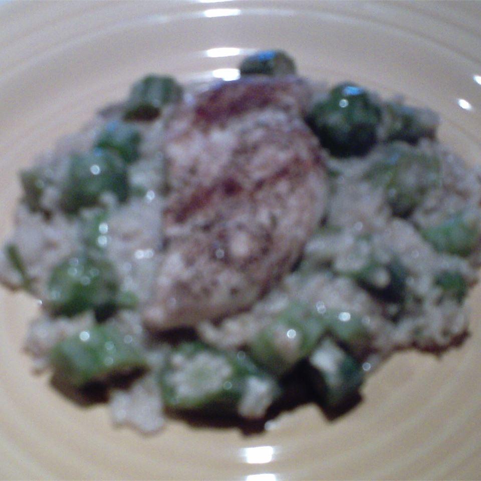 Okra, Chicken and Rice Casserole J.Webb