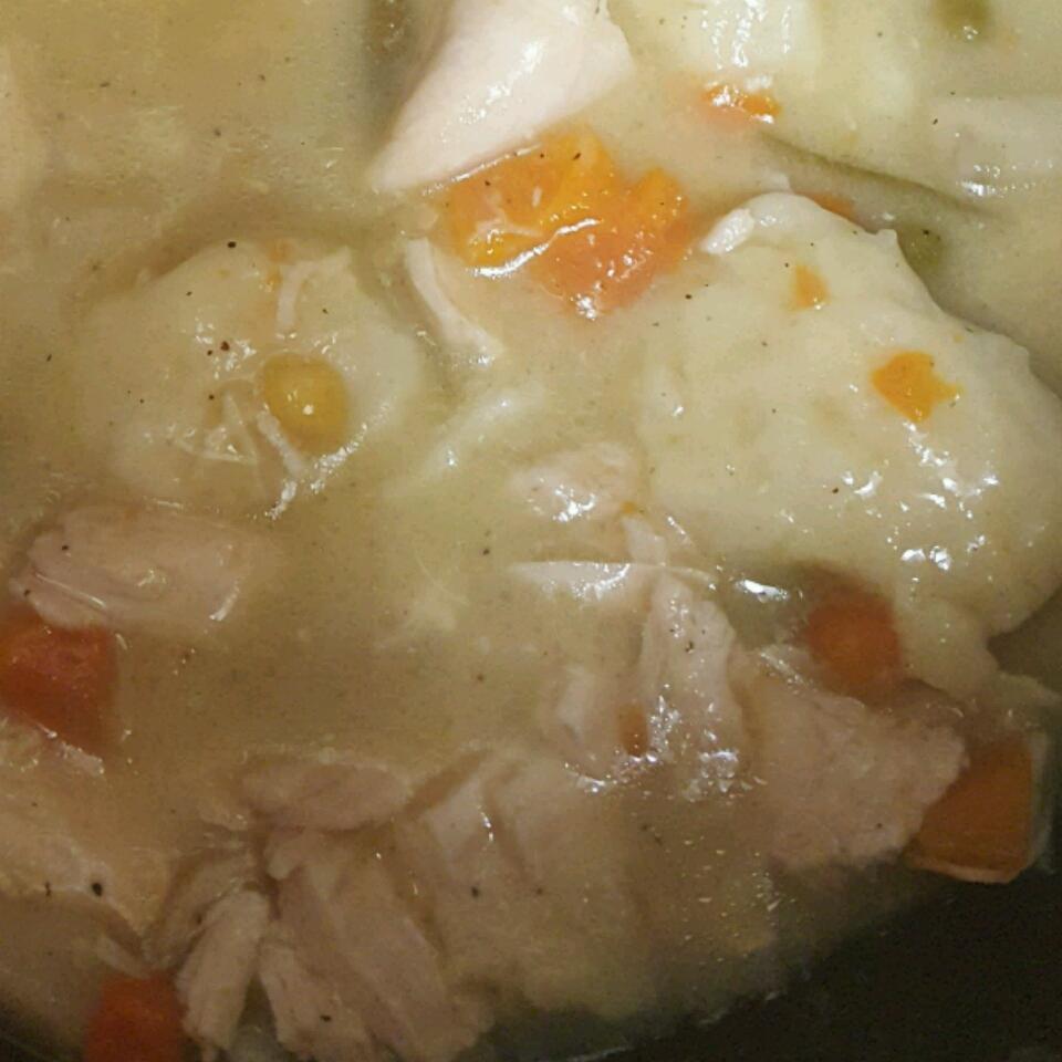 Beginner Chicken and Dumplings Jennifer Diaz